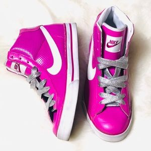 Pink Nike women high tops